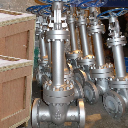 flanged bellow sealed gate valve